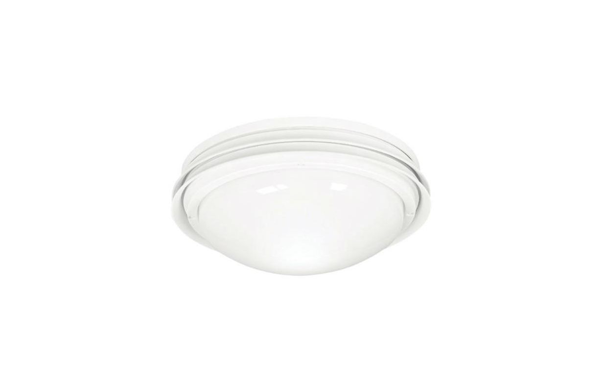 Hunter 28438 White Marine II Wet Rated Low Profile Outdoor Light Kit