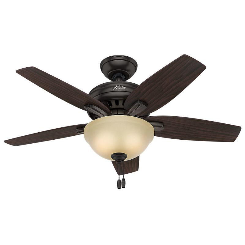"Hunter Newsome 42 Bowl 42"" Indoor Ceiling Fan - 5 Reversible Blades"
