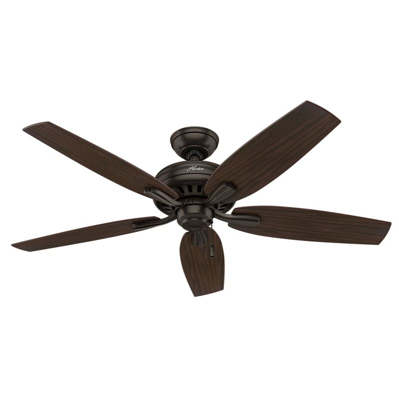"Hunter Newsome 52 52"" Indoor Ceiling Fan - 5 Reversible Blades Premier"