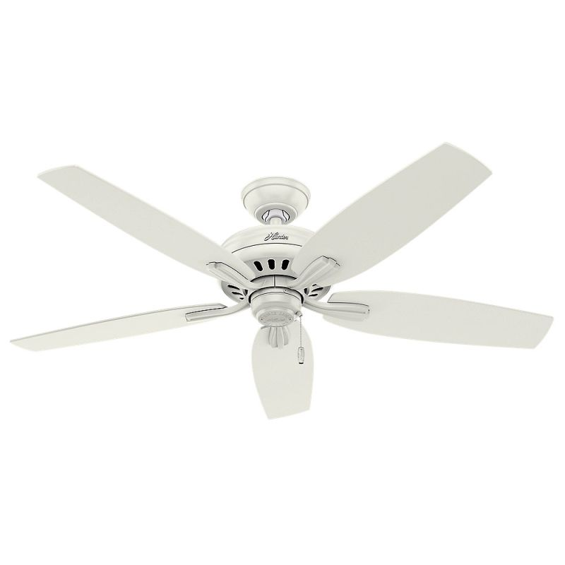 "Hunter Newsome 52 Damp 52"" Outdoor Ceiling Fan - 5 Reversible Blades"