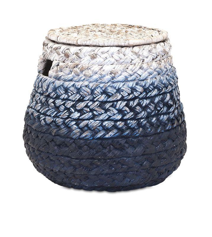 IMAX Home 11600 Cascade Woven Water Hyacinth Basket Home Decor