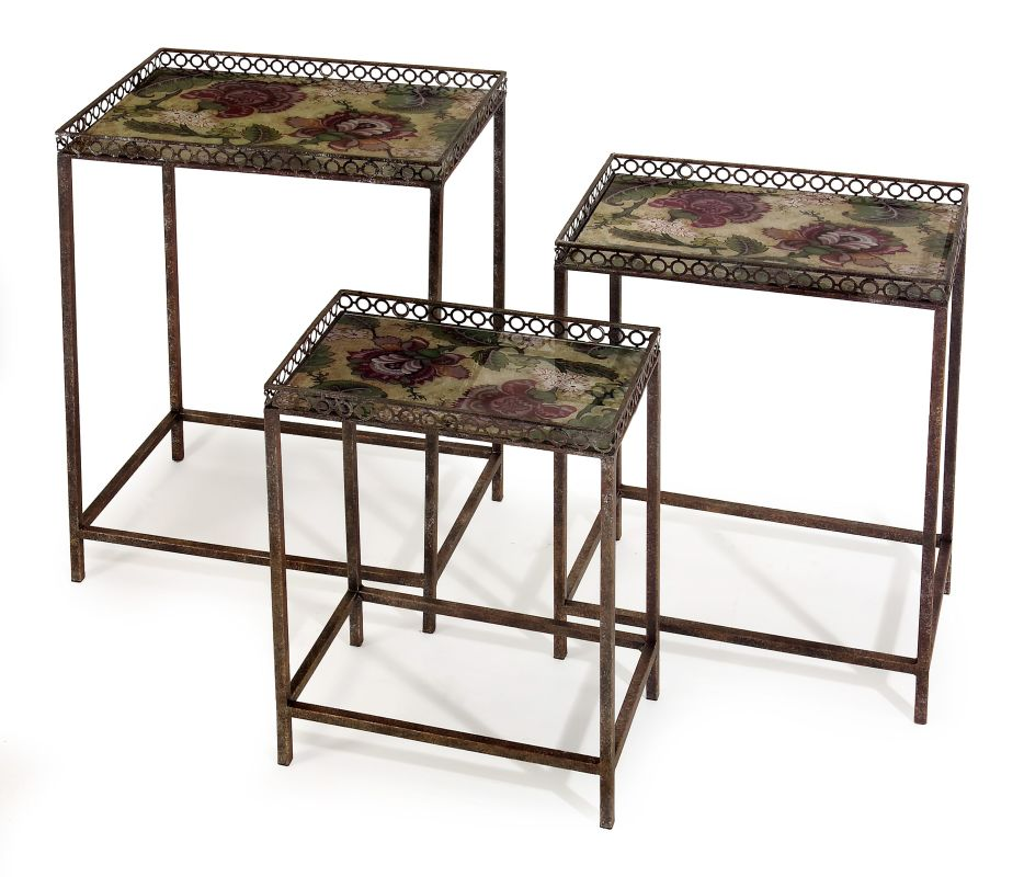 IMAX Home 12204-3 Maniera Nesting Tables - Set of 3 Furniture