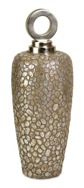 IMAX Home 13454 CKI Tall Myriad Lidded Vase Home Decor Vases