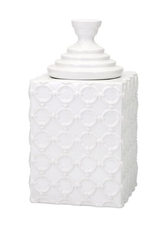IMAX Home 13531 Sullivan Large Ceramic Canister Home Decor