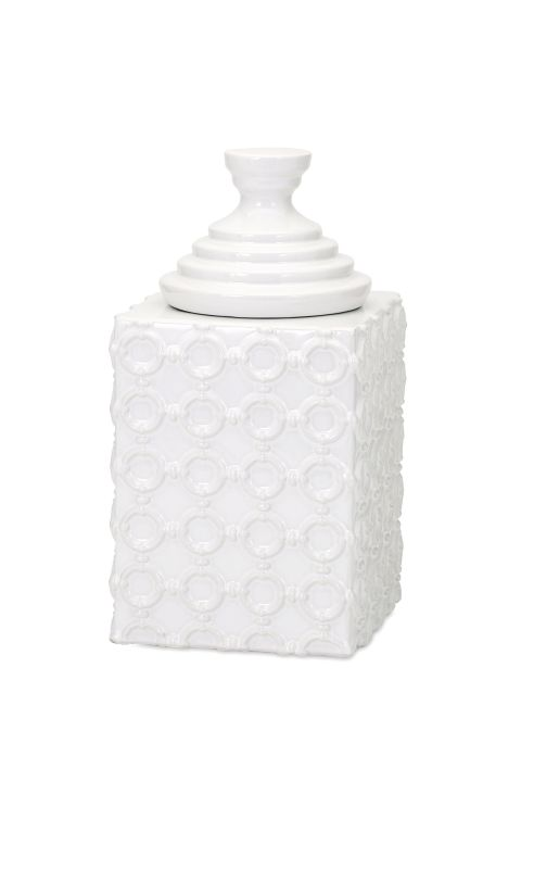 IMAX Home 13532 Sullivan Small Ceramic Canister Home Decor