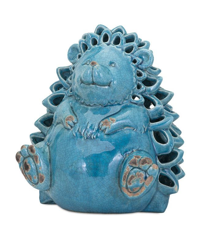 IMAX Home 13533 Hedgehog Ceramic Candleholder Home Decor Candle Sale $78.40 ITEM: bci2626015 ID#:13533 UPC: 784185135336 :