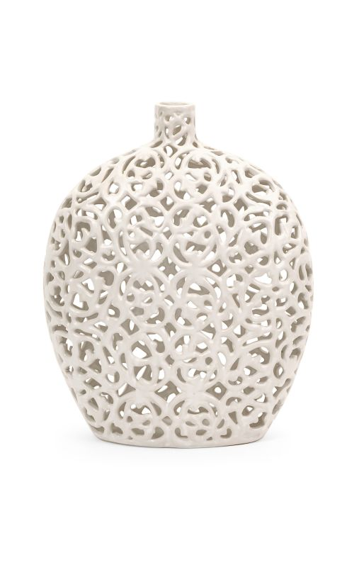 IMAX Home 1508 Small Lacey Vase Home Decor Vases