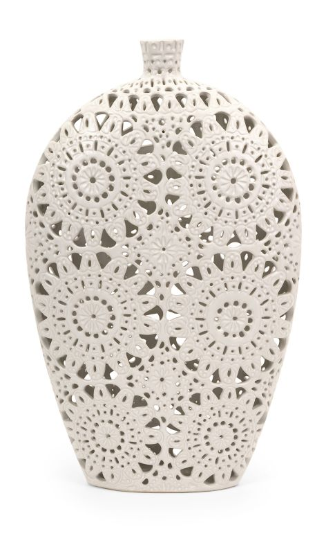 IMAX Home 1509 Large Lacey Vase Home Decor Vases