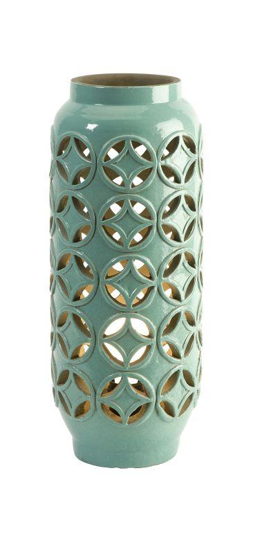 IMAX Home 18187 Creighton Cutwork Ceramic Lamp Lamps Accent Lamps