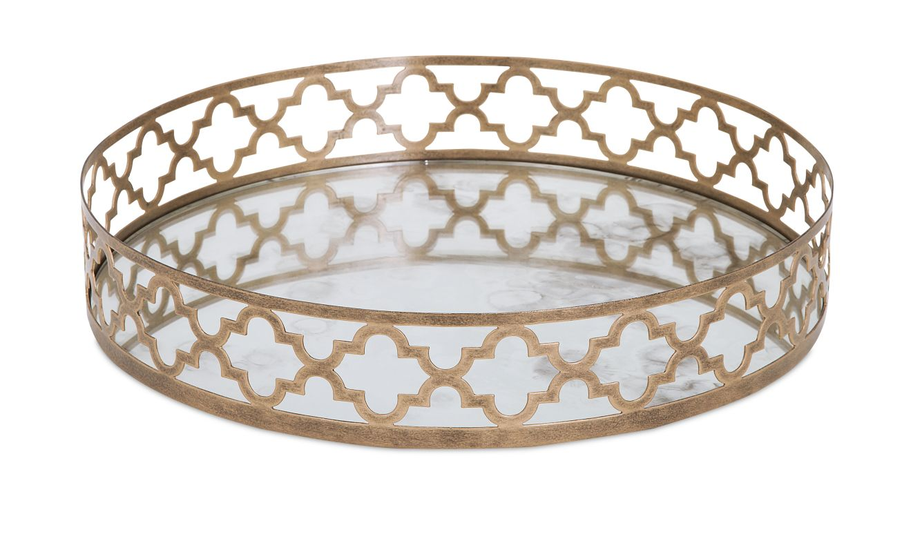 IMAX Home 20269 Chelsey Geometric Mirror Tray Home Decor Sale $146.51 ITEM: bci2626047 ID#:20269 UPC: 784185202694 :