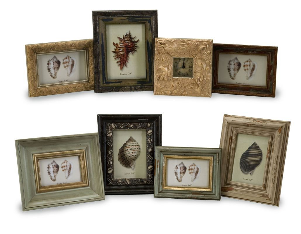 IMAX Home 21109-8 Seaside Frames - Assorted Set of 8 Home Decor