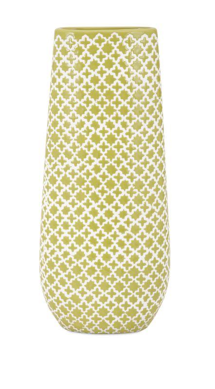 IMAX Home 25322 Sarina Graphic Vase Home Decor Vases