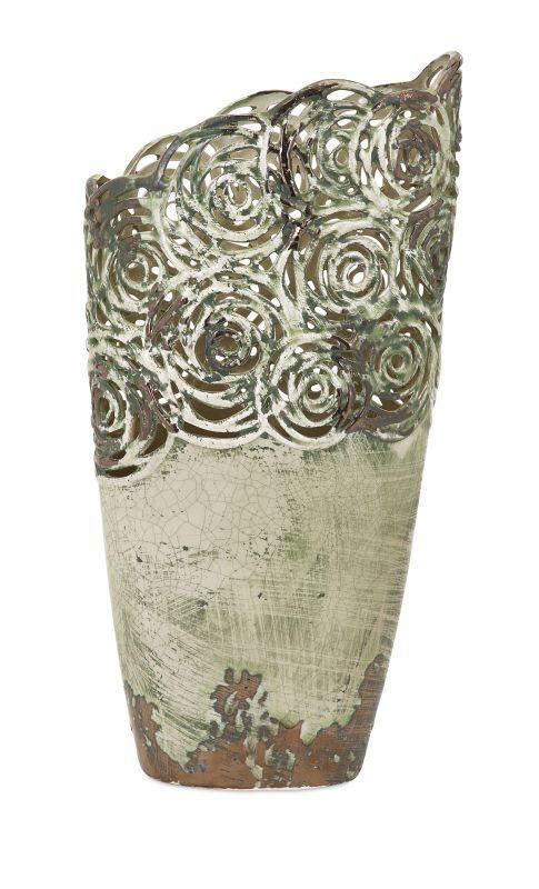 IMAX Home 25339 Kai Cutwork Vase Home Decor Vases