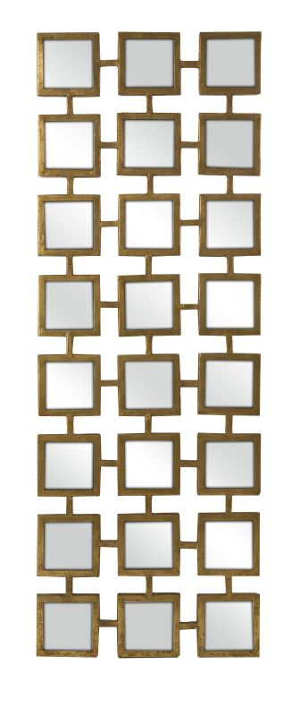 "IMAX Home 30001 Kingsley 39.5"" x 17.5"" Square Mirror Home Decor"