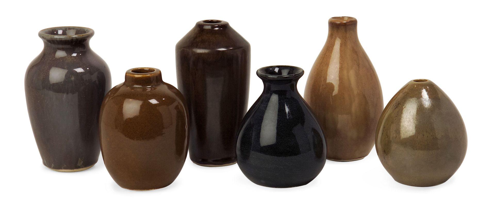 IMAX Home 35073-6 Mini Vases - Set of 6 Home Decor Vases