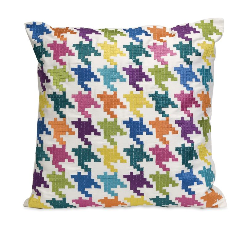 IMAX Home 42147 Abrielle Embroidered Pillow Home Decor Pillows