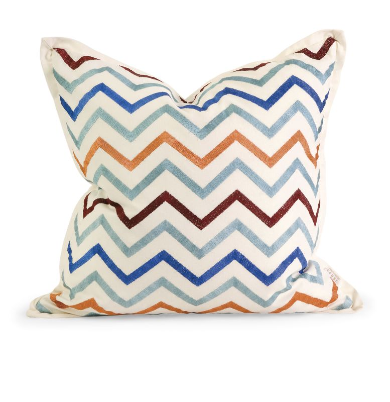 IMAX Home 42174 IK Zola Embroidered Pillow with Down Fill Home