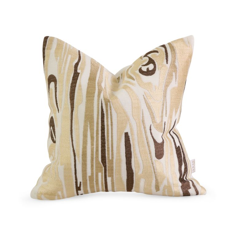 IMAX Home 42177 IK Idrissa Embroidered Pillow with Down Fill Home