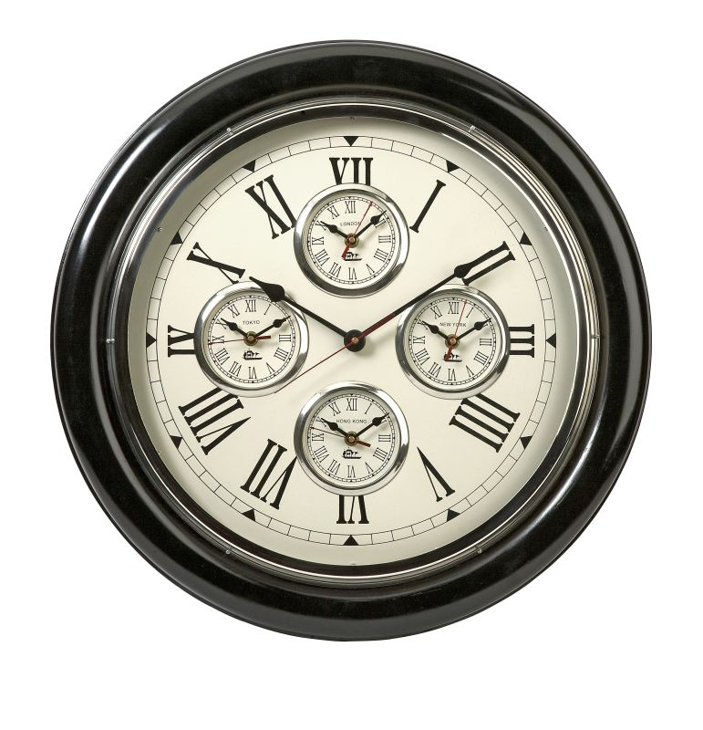 "IMAX Home 60105 22"" Five Country Wall Clock Home Decor Wall Clocks"