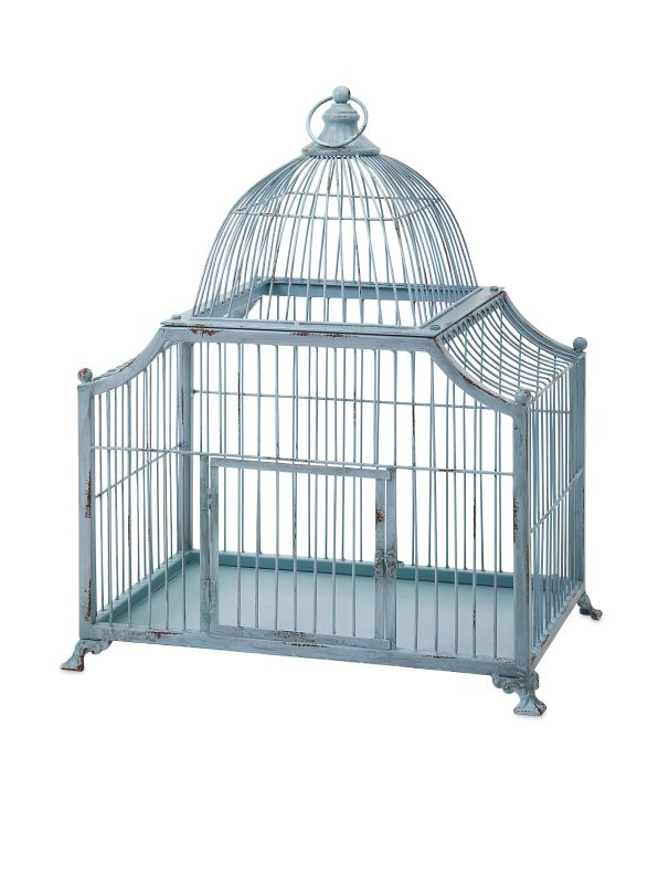 IMAX Home 65275 Iris Suspension Bird Cage Home Decor Bird Cages