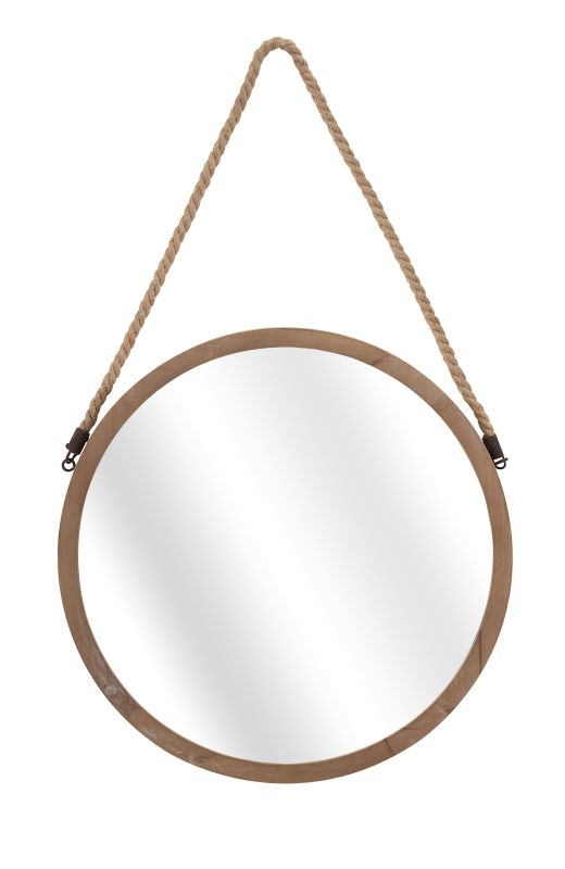"IMAX Home 65291 Rally 31"" x 18.75"" Circular Mirror Home Decor"