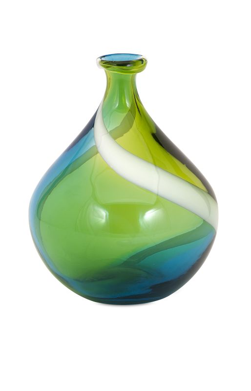 IMAX Home 65441 Cambria Small Glass Vase Home Decor Vases