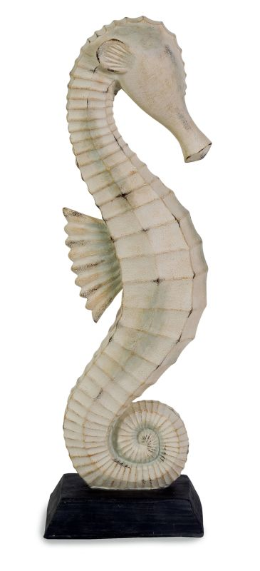 IMAX Home 70200 Seahorse on Stand Home Decor Statues & Figurines