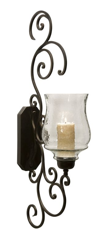 IMAX Home 7024 Angelina Grand Scrollwork Candle Sconce Home Decor