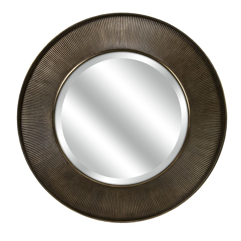 "IMAX Home 70373 CKI 40"" Circular Mirror Home Decor Lighting"