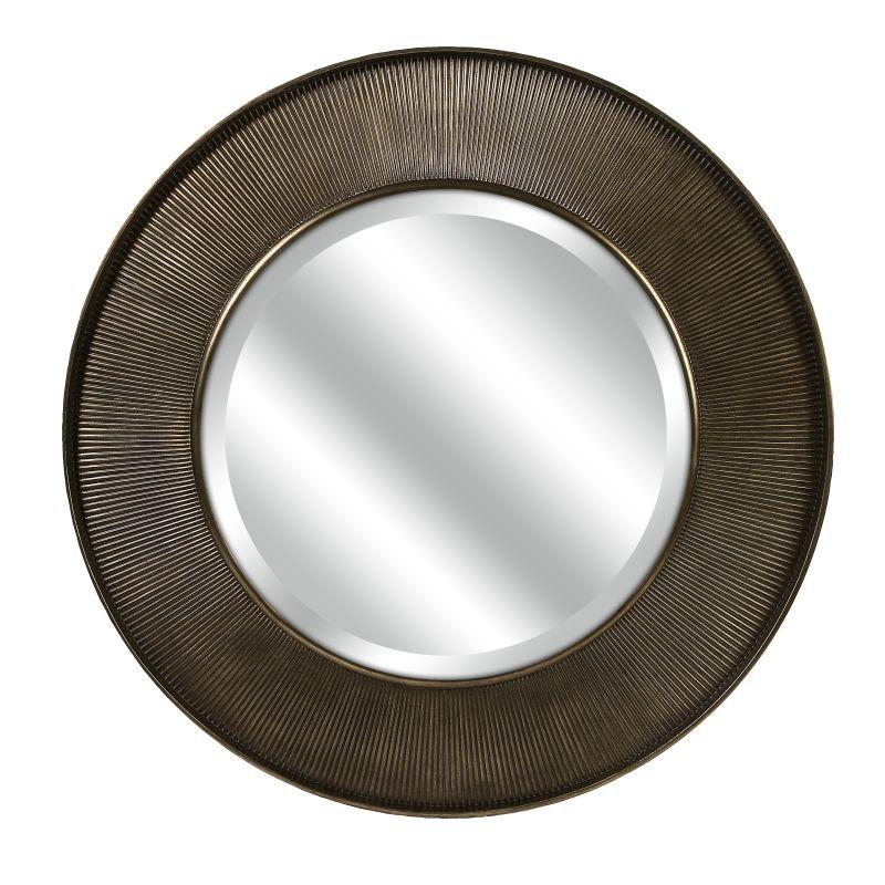 """IMAX Home 70373 CKI 40"""" Circular Mirror Home Decor Lighting"""