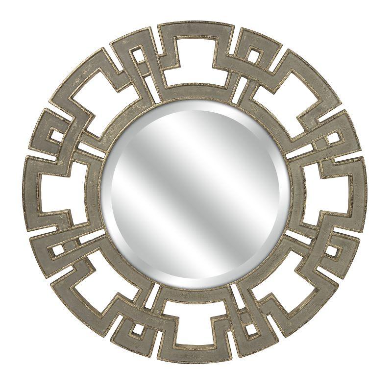 """IMAX Home 70374 CKI 34"""" Circular Mirror Home Decor Lighting"""