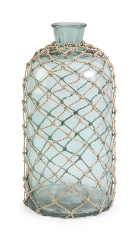 IMAX Home 71702 Cornell Large Jug with Rope Home Decor Decorative