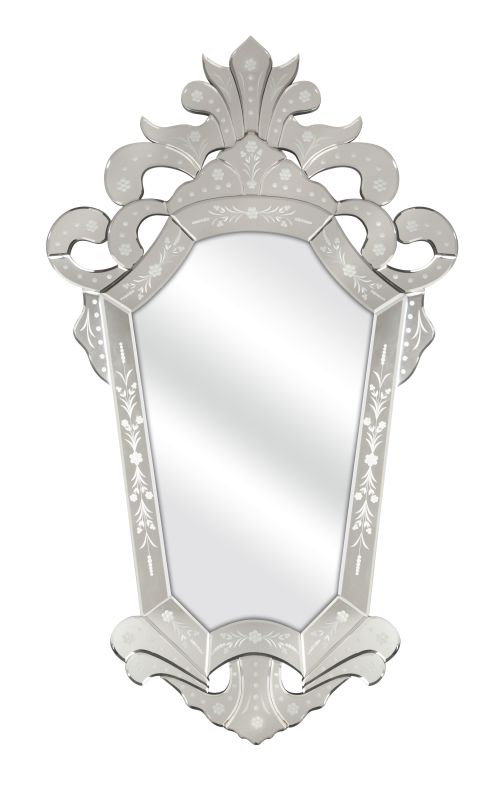 """IMAX Home 74262 Lucille 50.75"""" x 30"""" Specialty Mirror Home Decor"""