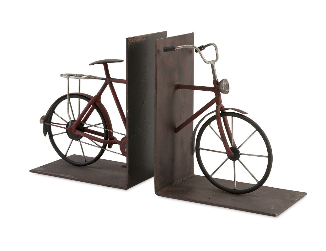 IMAX Home 74435-2 Renee Bicycle Book Ends - Set Of 2 Home Decor Sale $47.18 ITEM: bci2627254 ID#:74435-2 UPC: 784185744354 :