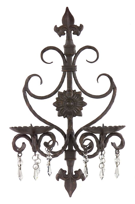 "IMAX Home 7790 19"" Height Wall Sconce Home Decor Candle Holders"