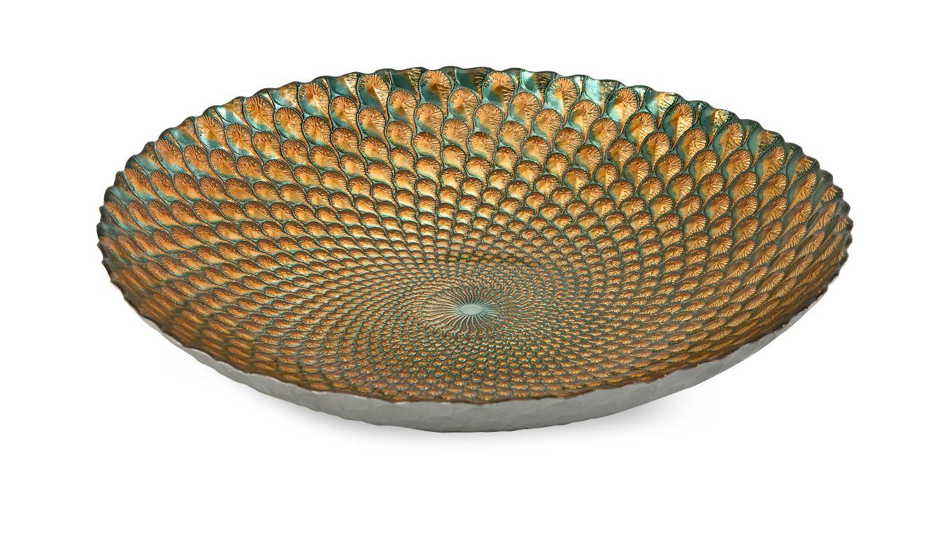IMAX Home 83122 Istanbul Glass Bowl Home Decor Decorative Plates