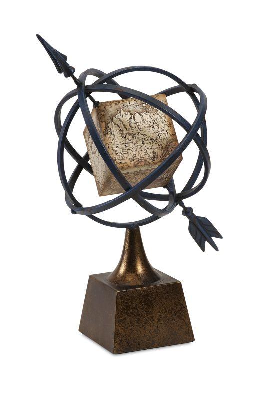 IMAX Home 83410 Creston Globe Armillary Home Decor Globes