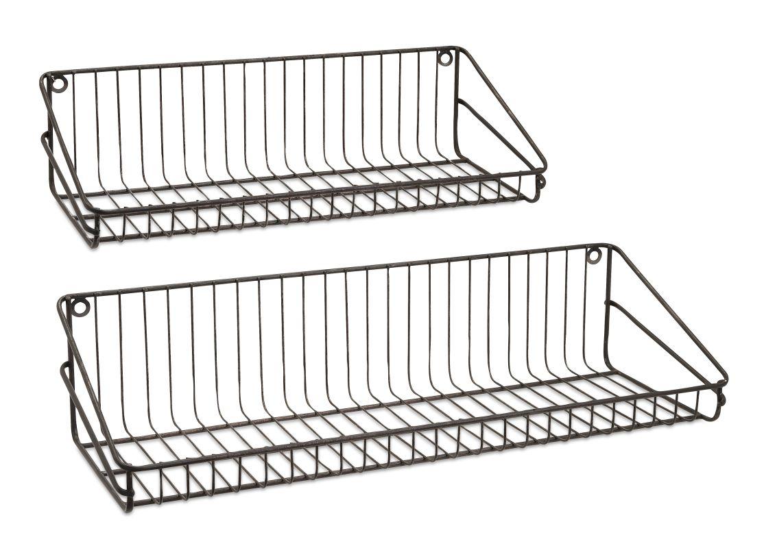 IMAX Home 83425-2 Ludovic Wall Shelf - Set Of 2 Home Decor Shelves