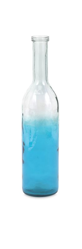 IMAX Home 84541 Granada Small Oversized Recycled Glass Bottle Home