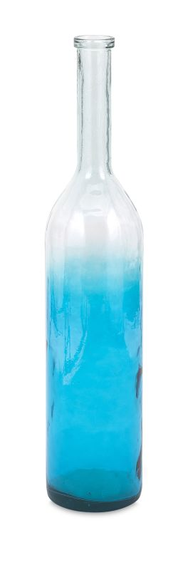 IMAX Home 84542 Granada Large Oversized Recycled Glass Bottle Home