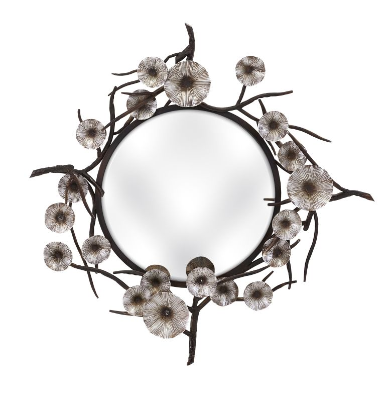 "IMAX Home 85822 39.5"" Morning Bloom Mirror Home Decor Lighting"