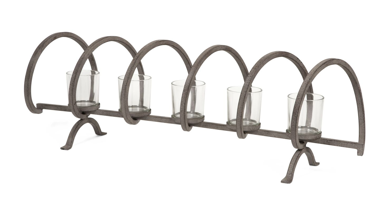 IMAX Home 86395 Mendoza Spiral Candle Holder Home Decor Candle