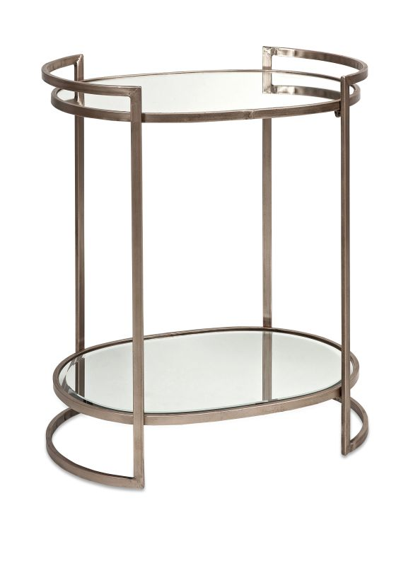IMAX Home 88435 Ancona Mirror Accent Table Furniture End Tables