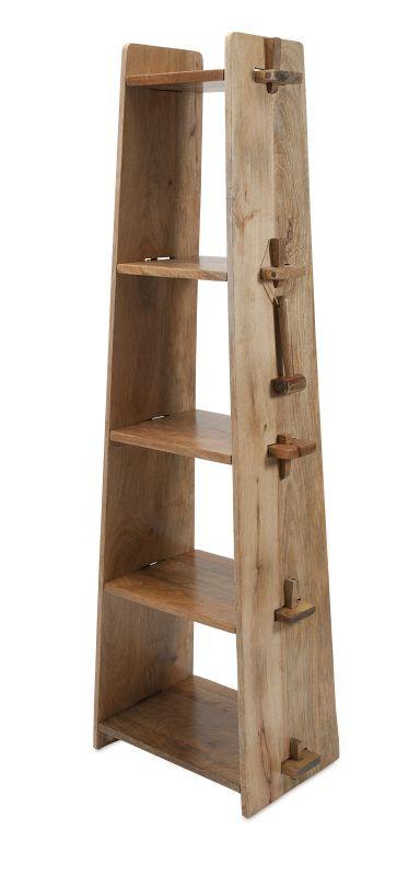 IMAX Home 89215 Bakkar Wood Shelf Home Decor Shelves