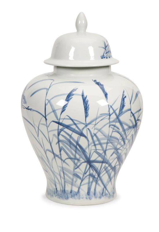 IMAX Home 89849 Tollmache Large Lidded Urn Home Decor Canisters