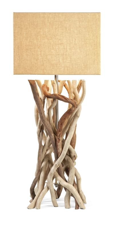 IMAX Home 89906 Explorer Drift Wood Table Lamp Lamps Buffet Lamps