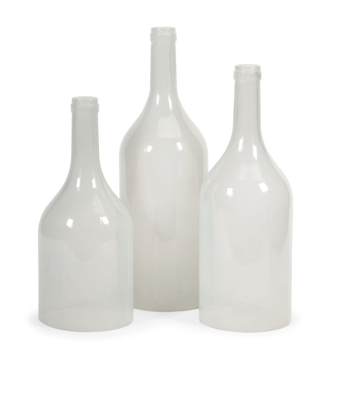IMAX Home 97403-3 Monteith Cloche Bottles - Set of 3 Home Decor