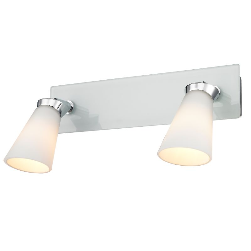 Iberlamp C024-02-CH Chrome Contemporary Opera Bathroom Light Sale $119.00 ITEM: bci2357675 ID#:C024-02-CH UPC: 844375020429 :