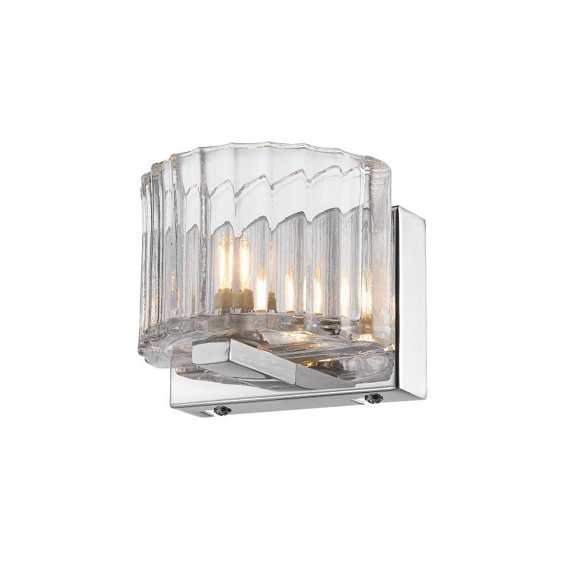 Iberlamp C156-01-CH Chrome Contemporary Clara Wall Sconce