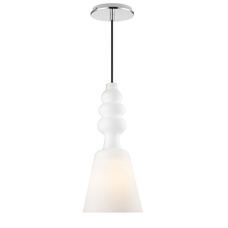 Iberlamp C160-01-CH Chrome Contemporary Sil Pendant